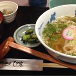手打ちうどん ひさ家 - かやくご飯定食(830円)