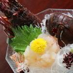 伊勢大阪屋 - 料理写真:伊勢海老(イセエビ)・・・御造り・塩焼き・塩茹で・具足煮・他御希望があれば色んな料理が出来ます