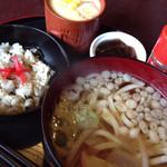 ダイニングカフェまき - うどんモーニング*〜11:30