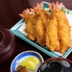 【海老フライ定食】