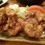 近江そば - 2014.06 鶏の唐揚げ