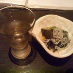 彩季・創作厨 Azu - 2014.6. お通し(\360)