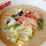 テンホウ - 料理写真:長崎ちゃんぽん風パイタンスープのテンホウメン