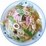 テンホウ - さくさくの揚げ麺にあんかけをかけたかた焼きそば。皿うどん