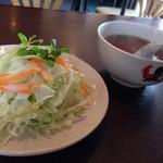 AL'FAMOSA - サラダとスープ