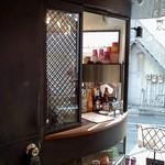 anthrop.Espresso&Comfort - 厨房を兼ねたカウンター