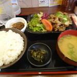 満マル - 焼肉定食