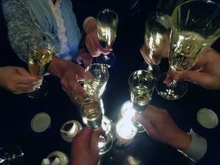 コットンダンサー - 「スパークリングワイン」で乾杯