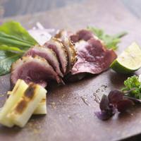 河内鴨料理 田ぶち - ロースの炙りポン酢