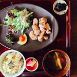 ソラフネ - 大豆たんぱくの唐揚げ定食