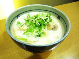 なか屋 - とり塩ラーメン ¥750(税込¥810)