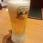Hananomai - 生ビール <税抜>480円→240円