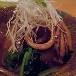 伊豆の旬 やんも - 烏賊と大根の煮物