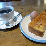 ジュンネ - 料理写真:2015.06 380円のコーヒーに最低限のモーニングはサービスされます。