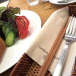 喫茶 六花 - お箸とフォーク。