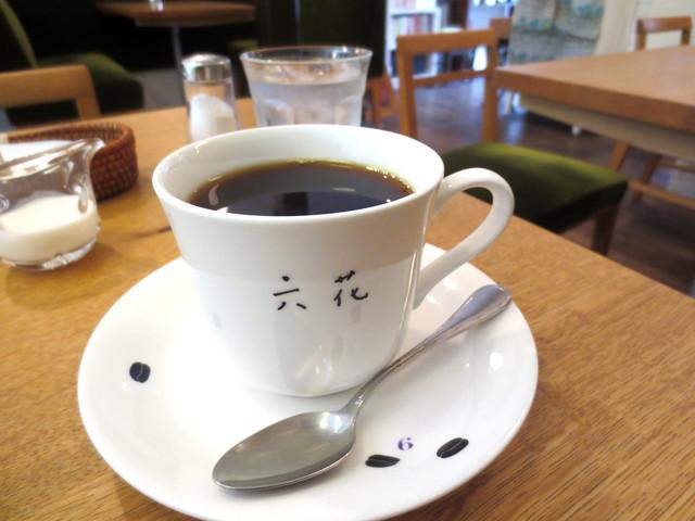 喫茶 六花 - 珈琲(通常¥450)