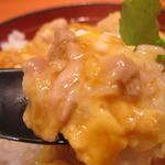 鶏三和 - 名古屋コーチン 親子丼アップ