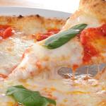 笑姫きっちんef - ピザはすべてイタリア産モッツァレラチーズとイタリア産の粉を使用