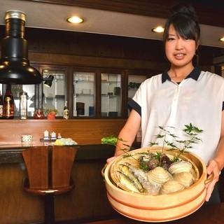 新鮮な魚は御客様自身で目で御確認頂けます♪