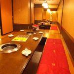 ヌルンジ サランバン - 広々個室は大人数でもご用意できます。会社での宴会にもお勧めです。