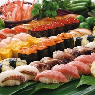 寿司食べ放題やってます!