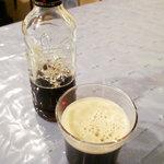 シルクロードハウス - エフェス黒ビール。