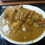 日の出食堂 - 料理写真:チキンカツカレー大610円