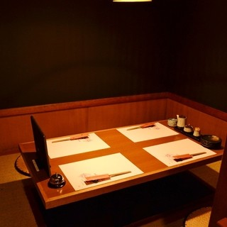 ★最大6名様まで-シーンを選ばず利用出来る2部屋の個室席