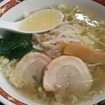 聚香園 - 塩ラーメン 600円