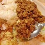 KAMMO Curry+Cafe Asakusa - 肉々しいキーマカレー
