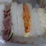 ラ・パレット - サンドイッチその1