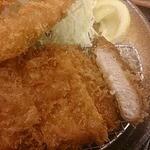 松乃家 - 料理写真:ロース&海老フライ定食