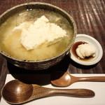 沖縄懐石 赤坂潭亭 - ランチ・島美人御膳のお味噌汁とデザート