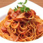 コンセント - トマトソースのナポリタン