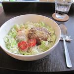 ちりきら☆ROOM - 黒毛和牛ハンバーグのロコモコ・ドリンク付 1,185円