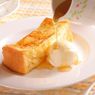 フレンチトーストはランチタイム限定デザート