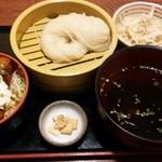 28561427 - タルタルカキフライ丼と稲庭うどん¥850