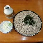 下野茶屋 - 料理写真:ザル蕎麦と