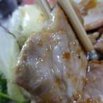 辰の子食堂 - <'14/06/26> 豚ロース生姜焼き定食