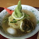 カフェレストラン きゃびん - わさび冷麺 ¥880(税別)