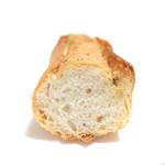 イシノウエ - ガーリックバターのフランスパンの断面  '14 5月中旬