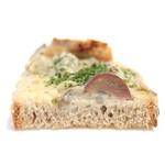 イシノウエ - 鶏ときのこのライ麦パンの断面  '14 5月中旬