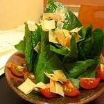膳 - ほうれん草のサラダ