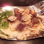 狸狸亭 - フィレ肉サイコロステーキ