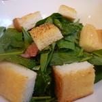ヴェルデュール・カフェ - ほうれん草サラダ(モーニング)
