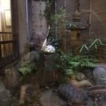 多門亭 - 中庭です