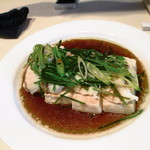 28566681 - 明石真鯛と豆腐の蒸し物