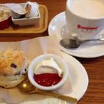 koko ti cafe - スコーンセット  500円(クランベリー)