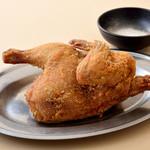 ぢどり亭 - 丸鶏から揚げ半身