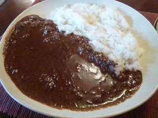 curry味善 - 和牛すじとろカレー(ランチ) 750円